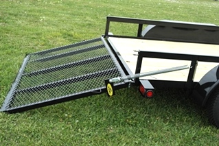 SPRING ASSIST FOR UTILITY TRAILER TAIL GATE