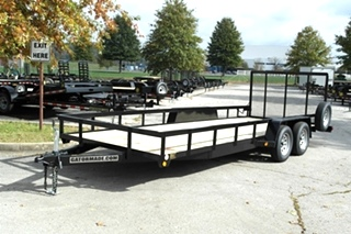 20FT LANDSCAPE / UTILITY TRAILER FOR SALE