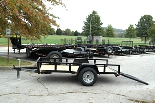 Utility trailers 5x10 utility trailer for sale utility for 5x10 wood floor trailer