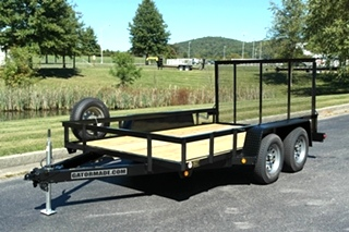 12FT LANDSCAPE / UTILITY TRAILER FOR SALE