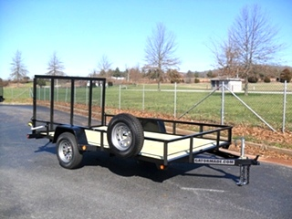 6X12 UTILITY TRAILER PERFECT FOR ATV'S AND UTVS Trailer