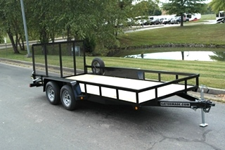 UTILITY TRAILER FOR SALE 16 FT X 82 INCHES